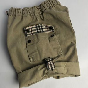 Burberry cargo shorts Baby Size  18M